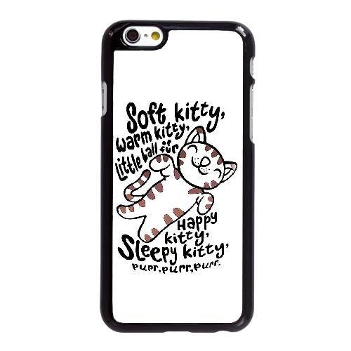 Big Bang Theory Soft Kitty V6B75Q4CC coque iPhone 6 6S 4.7 Inch case coque black 5763CK, Coques iphone