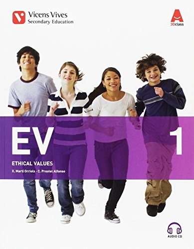 EV 1+CD (ETHICAL VALUES 3D CLASS): 000002 - 9788468240503 por Xavier Marti Orriols