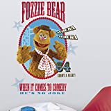 RoomMates Fozzie Motif Muppets Sticker Mural géant