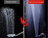 Nosame® Shower Head, Ionic Filter Filtration High Pressure Water Saving 3 Mode Function Spray Handheld Showerheads for Dry Skin & Hair Bild 3
