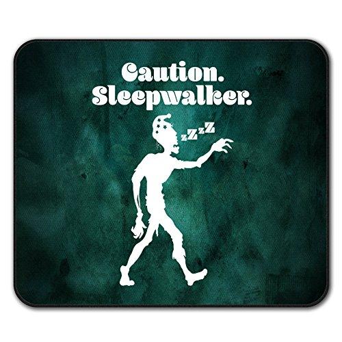 Schlafwandeln Komisch Zombie Mouse Mat Pad, Zombie Rutschfeste Unterlage - Glatte Oberfläche, verbessertes Tracking, Gummibasis von Wellcoda
