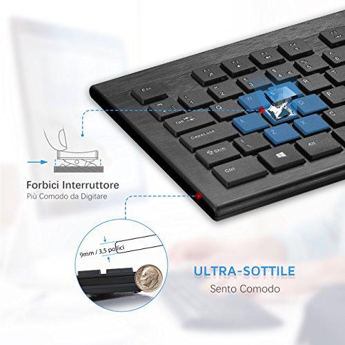 Zoom IMG-1 topelek tastiera e mouse wireless