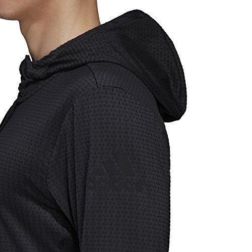 adidas Herren Full-Zip Hoodie Black