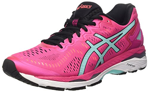 Asics Gel-Kayano 23, Women's Running Shoes, Multicolor (Sport Pink/Aruba Blue/Flash Coral), 4...