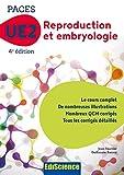 PACES UE2 Reproduction et Embryologie - 4e éd. - Manuel, cours + QCM corrigés