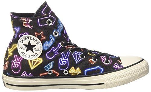 Converse Damen Ctas Hi Sneakers Mehrfarbig (Black/white/white)