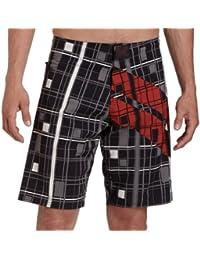 Tapout Super Stripe Boardshorts Schwarz