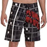 Tapout Super Stripe Boardshorts Schwarz, 32