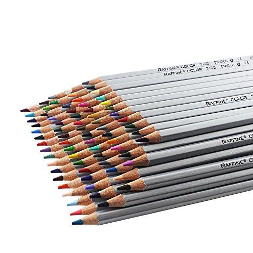 niceEshop(TM) 72-Farben Raffine Marco Fein Professionelle Kunst Buntstifte / Softcore Zeichnung...