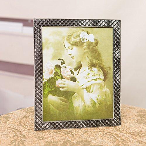 SQZH Retro-elegante e romantico San Valentino argento regalo photo frame ornamenti-libero immagini,Altri