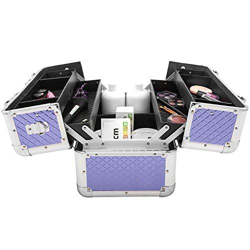 Etagenkoffer Beauty Case Kosmetikkoffer – in vielen Farben lieferbar - 5