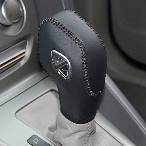 black-genuine-leather-gear-shift-knob-cover-for-2012-2013-2014-2015-2016-ford-focus-2014-2015-2016-f