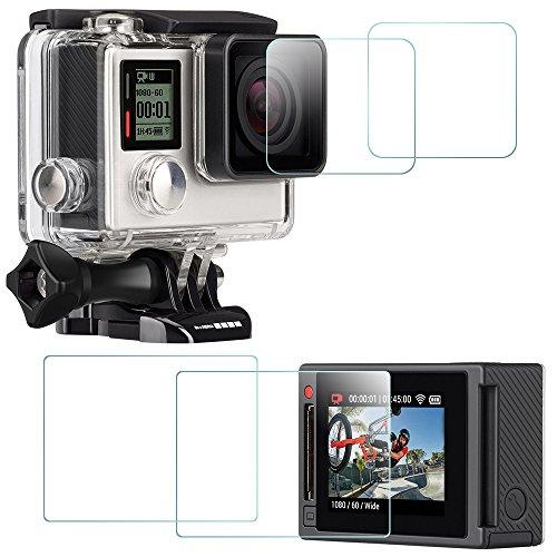 screen-protector-for-gopro-hero-4-black-silver-screen-and-lens-afunta-2-pack-4-pcs-hero4-anti-scratc