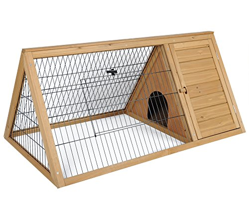 Kaninchenstall Hasenstall Kaninchenkäfig Hasenkäfig Stall Kleintierstall HT2024