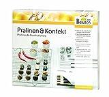 Pralinen + Konfekt Set mit Anleitung und Rezepten (9 - tlg.) KOMPLETT - SET FÜR EINSTEIGER