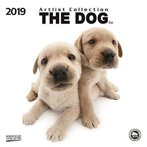 The Dog - Broschur Kalender 2019 - Artlist Collection - Korsch-Verlag - offen 30 cm x 60 cm (Dog Artist)