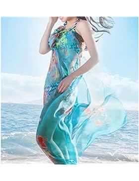 Elegante Bufanda Pañuelo Mujer JLTPH Pareo para la playa Soft Summer Fashion Scarf Shawl Wrap para Mujer Chica