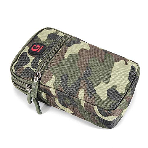 DFVmobile Mehrzweck Tarnung Gürteltasche Militär Marine für=> HTC Touch Diamond 3 (HTC Obsession) > Grün (17.5 x 10 cm) Htc Touch Diamond Mobile