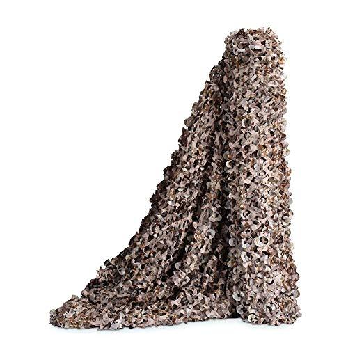 WZHCAMOUFLAGENET Desert Mode Tarnnetz Schießen Versteckter Bildschirm Party Dekoration Thema Camouflage Mesh-Cover (größe : 2 * 3m) (Polyester Mesh-bildschirm)
