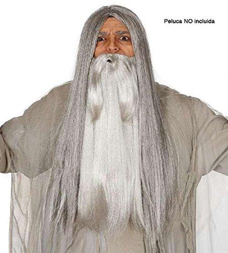 Gandalf Wizard Long Grey Beard