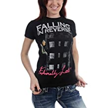 Falling In Reverse - - Fashionably Late Album T-camisa de las mujeres