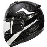 Arai Axces III Keen casco bianco del motociclo