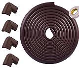 Refosian Safe Edge und Eckkissen -17,8 ft [16,4 ft Edge + 4 Ecken] Kindersicherheit Home Safety Möbel Stoßfänger und Tisch Edge Corner Protector