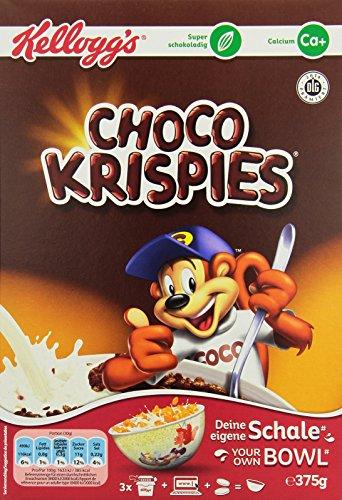 Kellogg's Choco Krispies, 5er Pack (5 x 375 g)