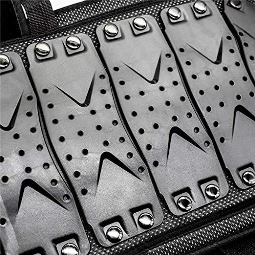 FyuFE Kinderrollschuh Motorrad Rüstung Kleidung, Dirt Bike Körper Brustwirbelsäulenschutzrüstung,M