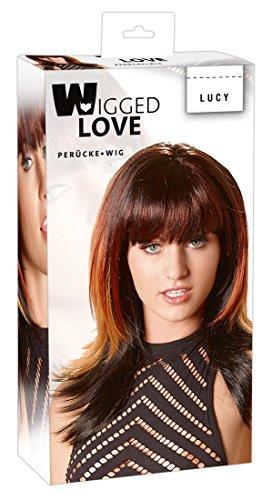 Wigged Love Perücke Lucy Strähnchen (Rollentausch Kostüme)