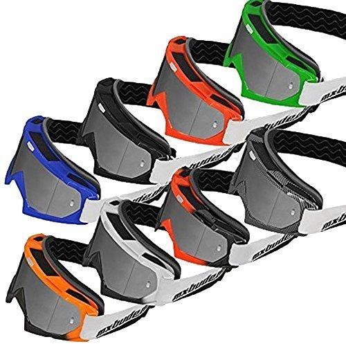 MX-Bude Racing Brille MX-2 - silber verspiegelte Scheibe