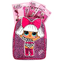 Clearance Shed LOL Surprise Going To School Essentials Backpack Stationary Bundle Set - Pink