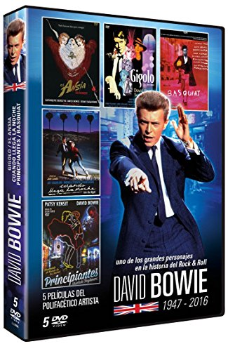 Just a Gigolo / The Hunger / Into the Night / Absolute Beginners / Basquiat (PACK DAVID BOWIE, Spanien Import, siehe Details für