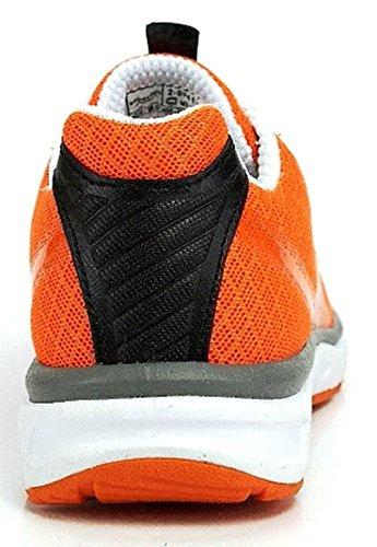 Superfit Schnür Halbschuh schwarz orange schwarz multi orange