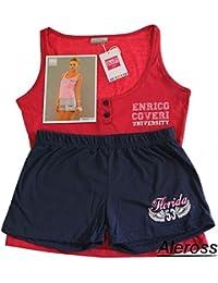 Pigiama Abbigliamento Amazon Donna Coveri Enrico it qx557wWHF