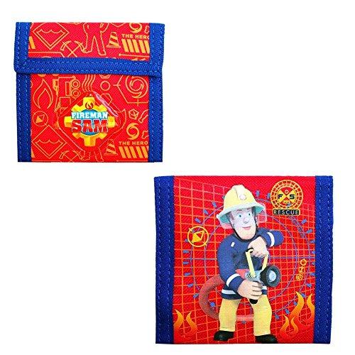 Feuerwehrmann Sam - Kinder Geldbörse Portemonnaie