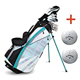 Bundle:Callaway Women's Strata Ultimate Complete Golf Set with Bag, 16-Piece, Right Hand,with Two Balls by Callaway