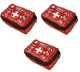 Wundmed Erste Hilfe Set 32-teilig in praktische Etui mit Gürtelschlaufe (3 x Set)