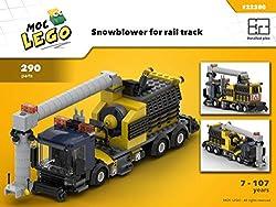 SnowBlower Train (Instruction only): MOC LEGO