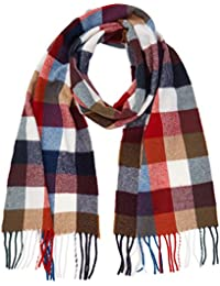 Gant Men's Multicheck Lambswool Scarf