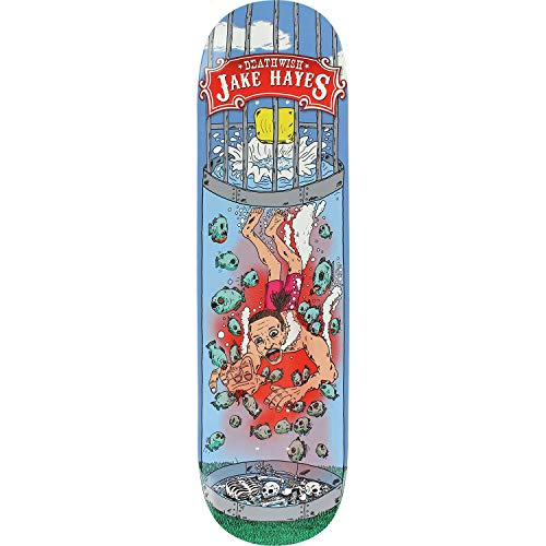 Unbekannt Deathwish Hayes Carny Skateboard-Brett/Deck, 20,32 cm