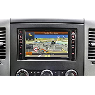 Alpine-x800d-s906-Fixed-8-LCD-Touchscreen-Schwarz-Navigation-Navigationsgert-Osteuropa-Osteuropa-203-cm-8-800-x-480-Pixel-LCD-horizontal-DivX