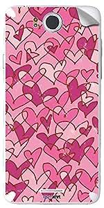 GsmKart IM530 Mobile Skin for Infocus M 530 (Pink, M 530-372)