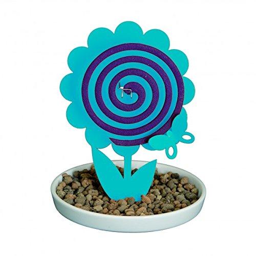 Räucherstäbchenhalter fiorllo hellblau