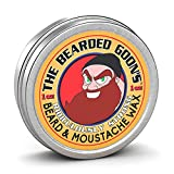 The Bearded Goon's Ridiculously Strong Beard and Handlebar Mustache Wax - 1oz (30ml)...