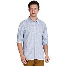 JDC Men's Standard-Fit Long-Sleeve Micro-Check Shirt