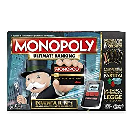 Hasbro Monopoly- Ultimate Banking, Single, Multicolore, B6677103
