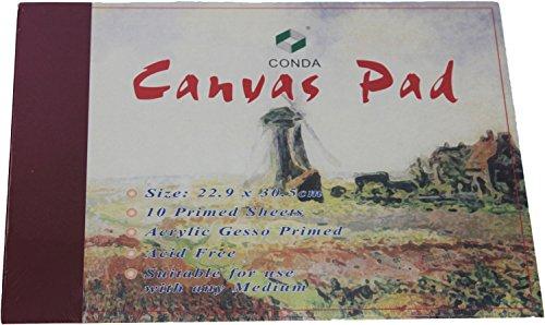 CanvasPad Maltuch Block 30,5 x 40,6 Acryl/Öl 10 Blatt