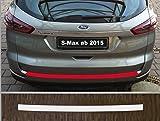 is-tuning passgenau für Ford S-Max, ab 2015; Lackschutzfolie Ladekantenschutz transparent