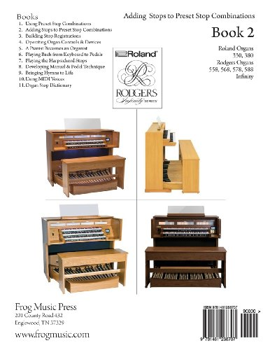 Playing the Church Organ - Book 2: For Roland 300, Rodgers 500 and Infinity Series Organs: Volume 2
